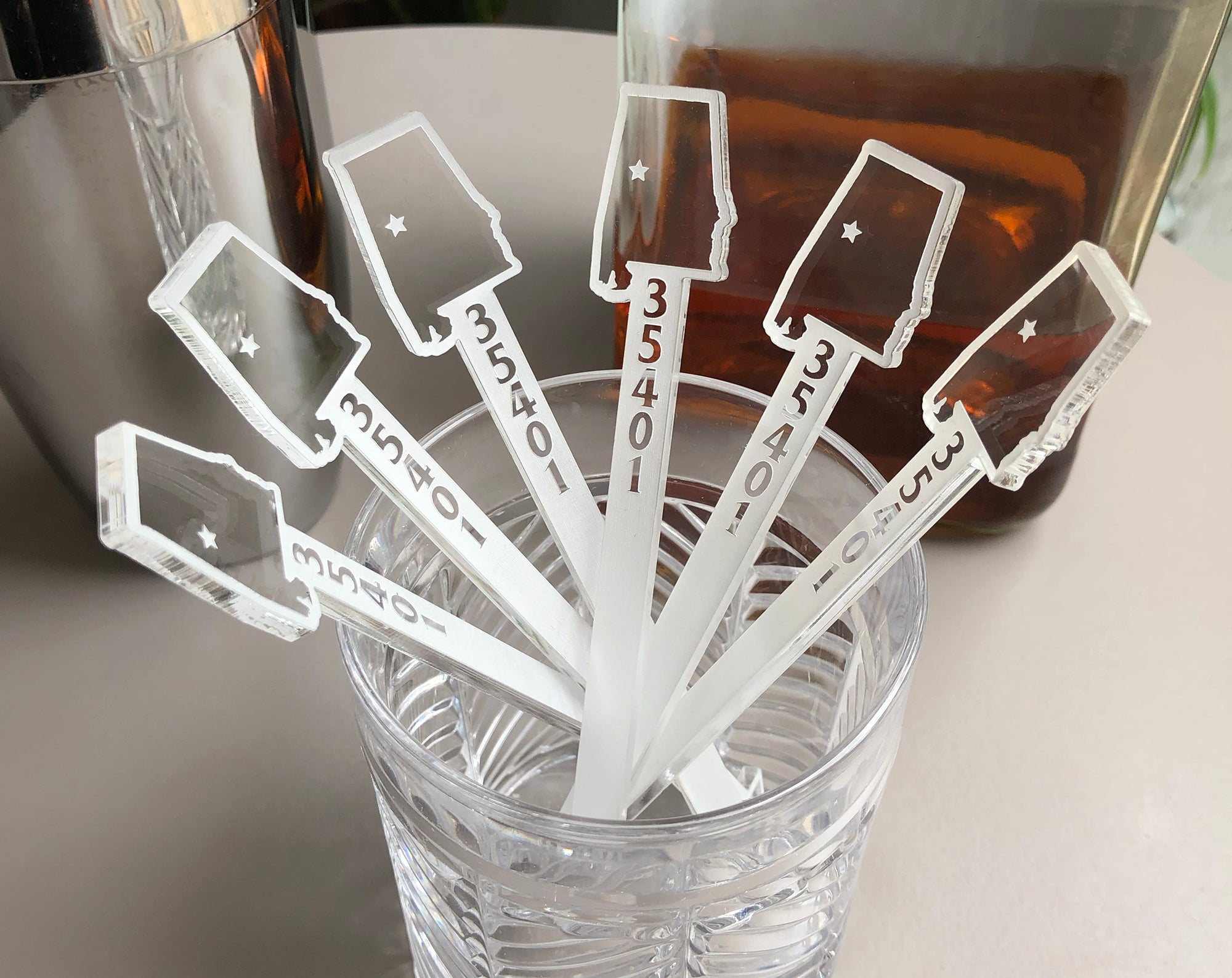 State Map Swizzle Sticks | Brit and Bee