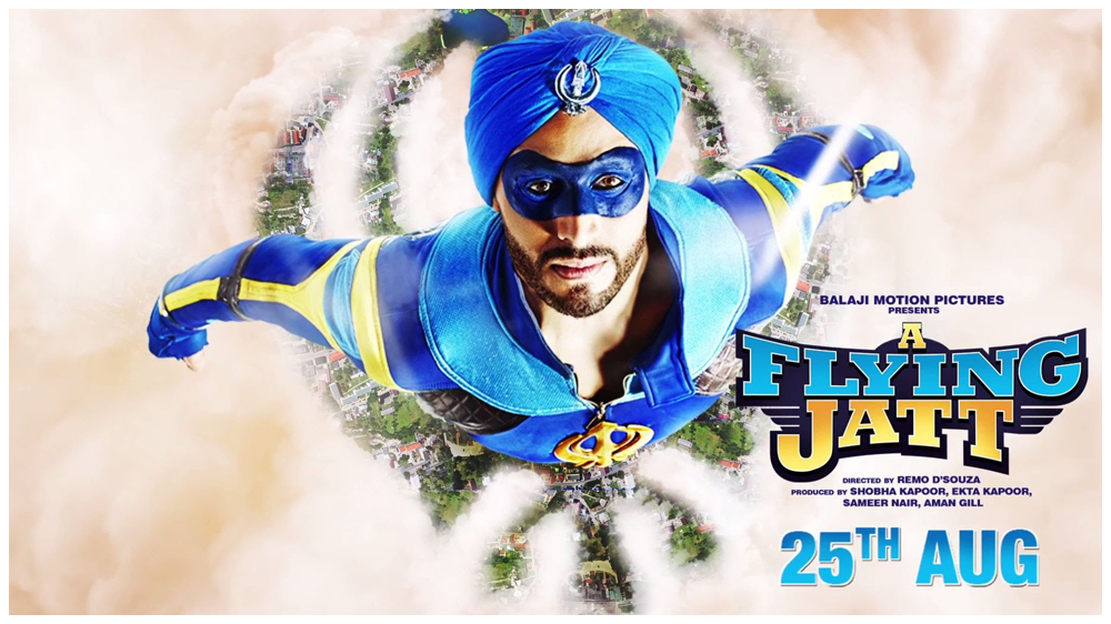 Bollywood Superhero Film – A Flying Jatt