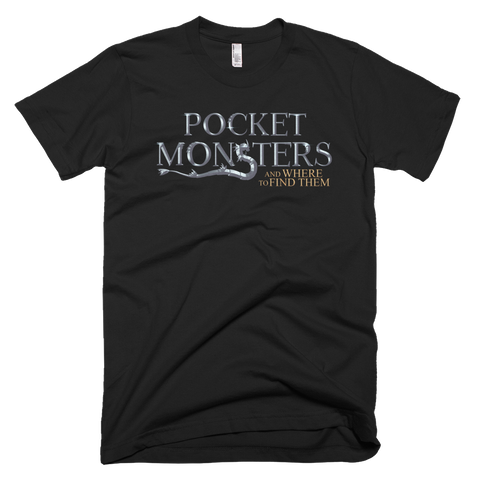 Pocket Monsters and Where to Find Them TShirt