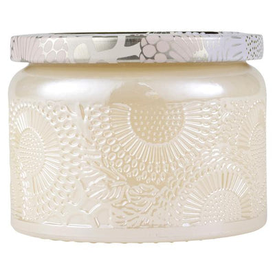 VOLUSPA - SANTAL VANILLE SMALL GLASS JAR CANDLE