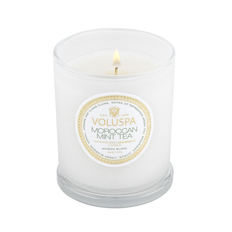 Voluspa Moroccan Mint Tea Classic Maison Candle