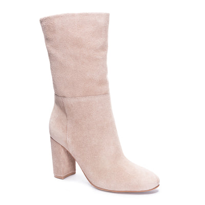 Chinese Laundry - Keep it Up Suede Boots - Taupe