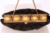 VINTAGE 1960'SBLACK SUEDE PURSE WITH STONES - Mint Market