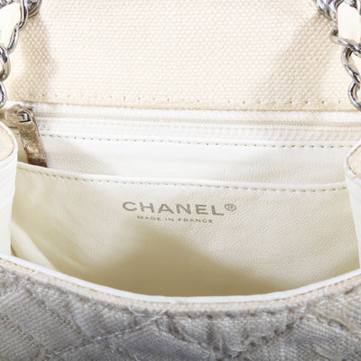 VTG CHANEL PEARL CLASSIC QUILTED CROSSBODY BAG