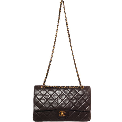 VTG CHANEL QUILTED LAMBSKIN 2.55 CLASSIC FLAP BAG