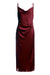 Maddy Slip Dress -Merlot