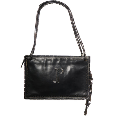 VTG JOHN PAUL GAULTIER LEATHER SHOULDER BAG