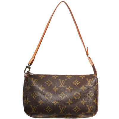 VTG LOUIS VUITTON POCHETTE MONOGRAM MINI SHOULDER BAG