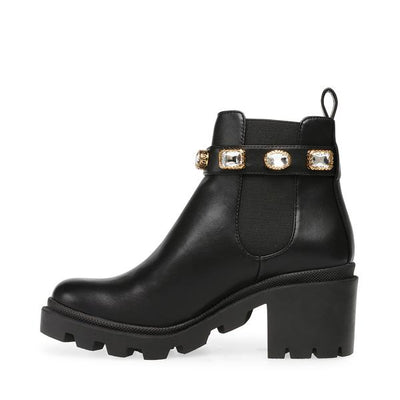 Steve Madden - AMULET - Jeweled Rubber Sole Chelsea Boots
