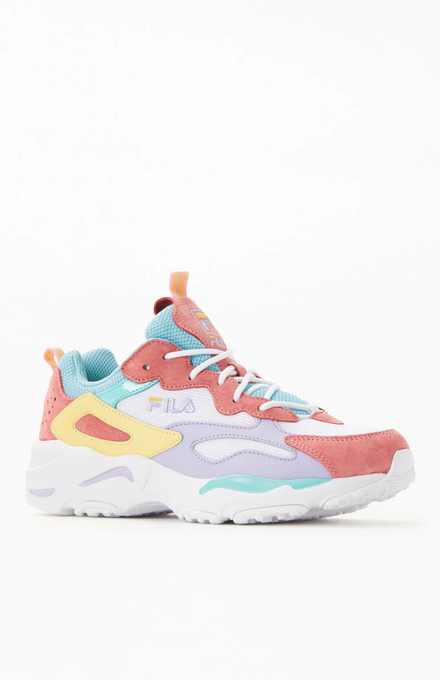 Fila Ray Tracer Chunky Dad Sneaker Art Deco Pastels