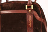 VINTAGE BLACK VALENTINO ITALIAN SUEDE LEATHER HANDBAG - Mint Market