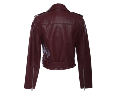 Pistola Tracy Moto Jacket - OXBLOOD - Mint Market