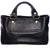 Vtg CELINE Oblong Leather Tote Top Handle Satchel Bag