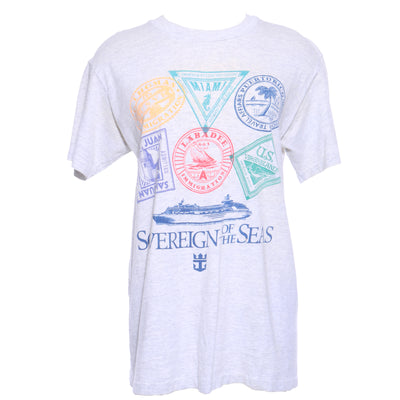 VINTAGE PASSPORT STAMP T-SHIRT - Mint Market