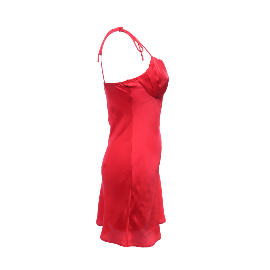 SHELF BUST SLIP DRESS