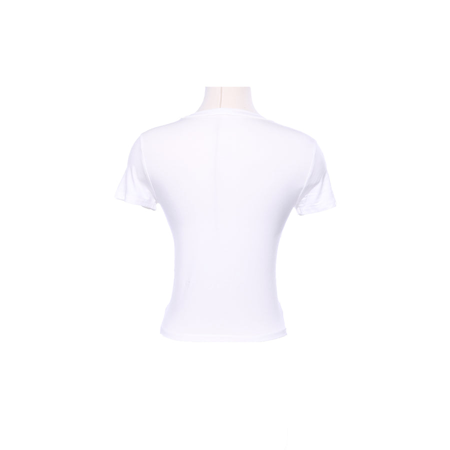 MINT BASICS CREW NECK T-SHIRT - WHITE