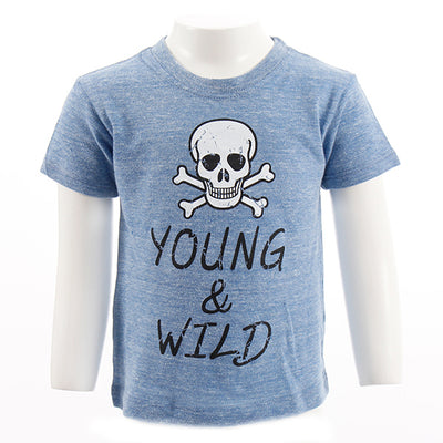 Young and Wild Short Sleeve Tee