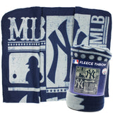 Yankees Fleece Throw