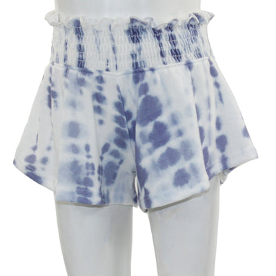 Ocean Fleece Short with Smock Waist
