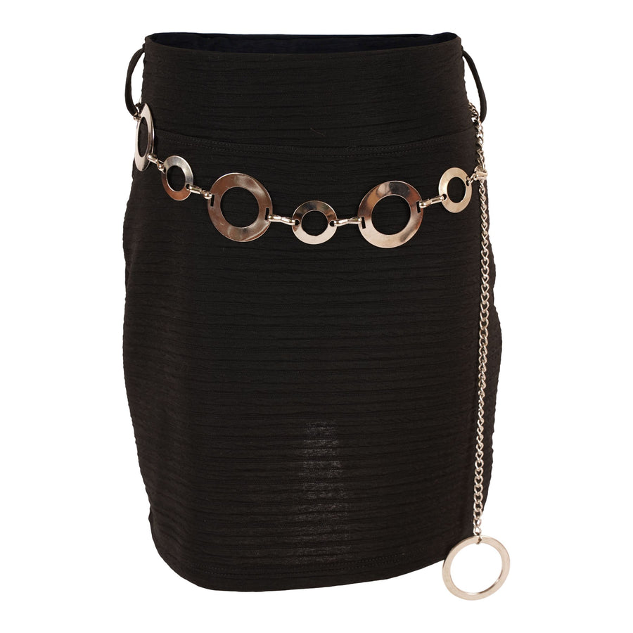 Chain Mini Skirt