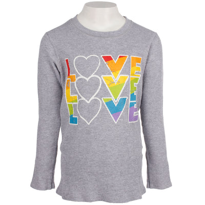 Long Sleeve Thermal with Love x3