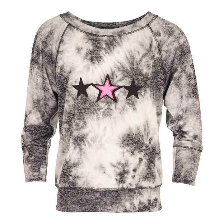 Long Sleeve Sweatshirt with 3 Stars