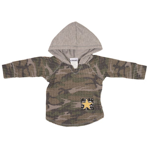 Hoody Camo Hacci with Patch