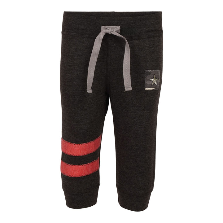 Red Stripe and Camo Star Sweatpant