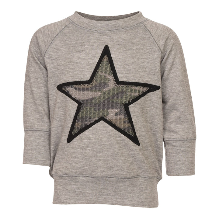 Camo Star Sweatshirt