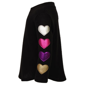 Heart Sleeve Hacci Tunic