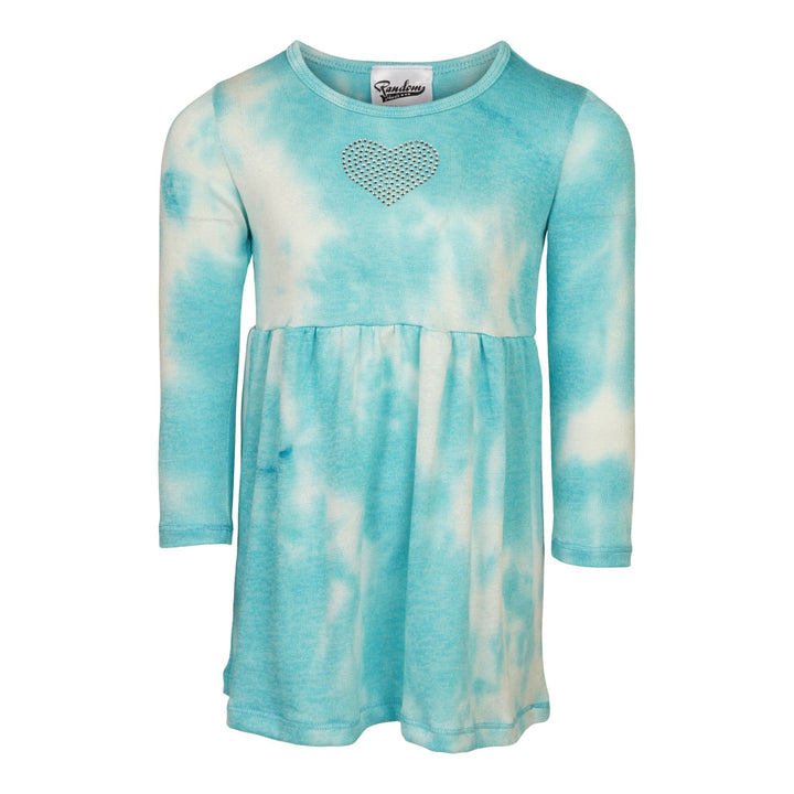 Baby Doll Tie Dye Crystal Heart Dress