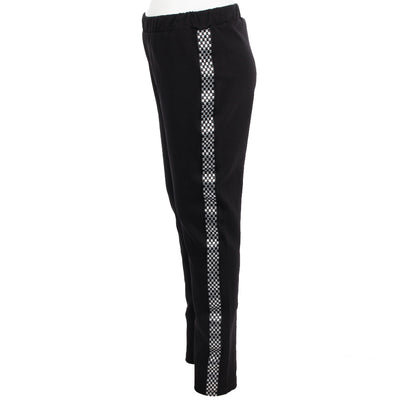 Legging with Checker Stripe