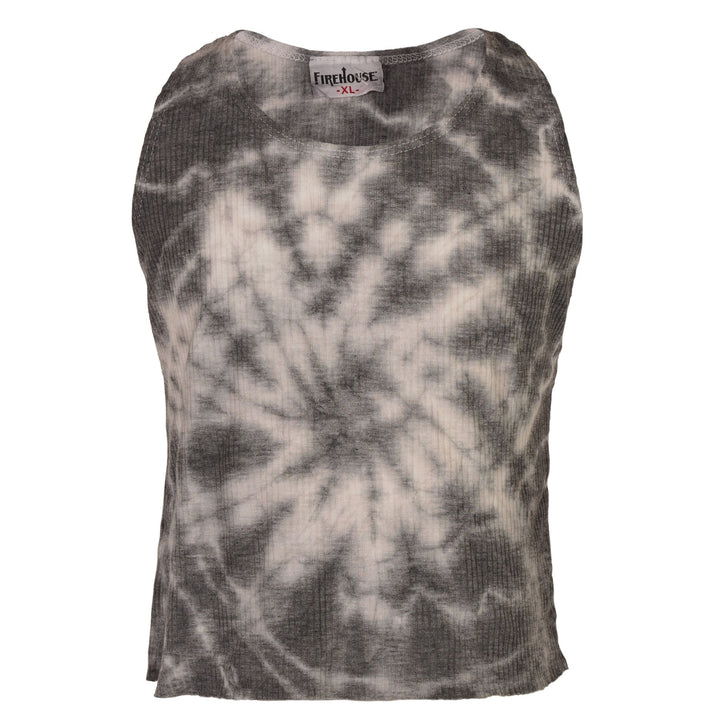 Cloud Tie Dye Rib Tank Top