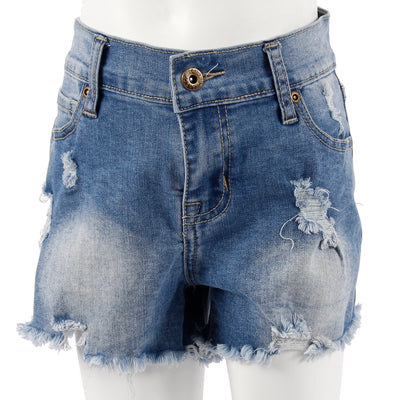 Denim Cut Off Short