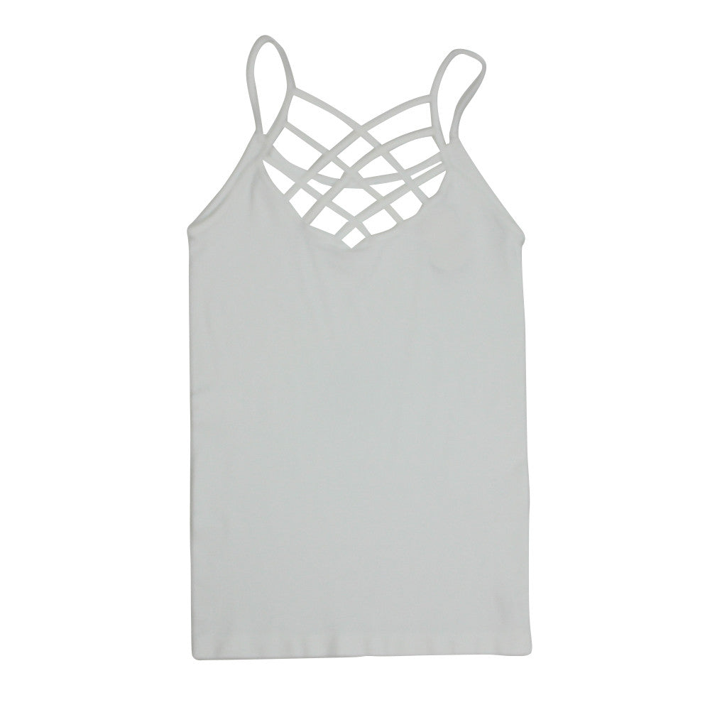 Spider Cage Criss Cross Tank
