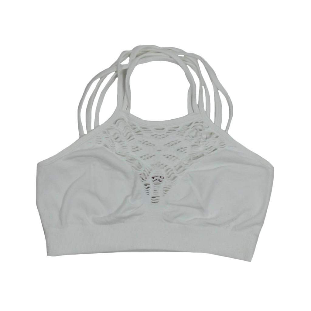 Web Stone Wash Junior Bralet