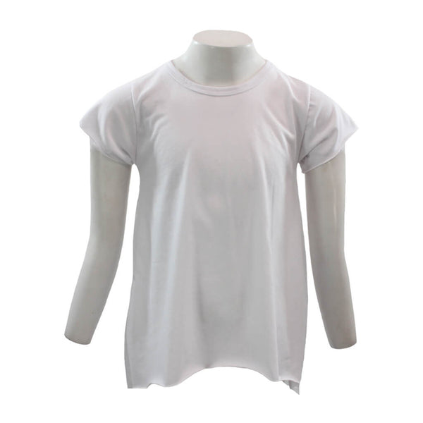 Short Sleeve Hi Lo Top Solid
