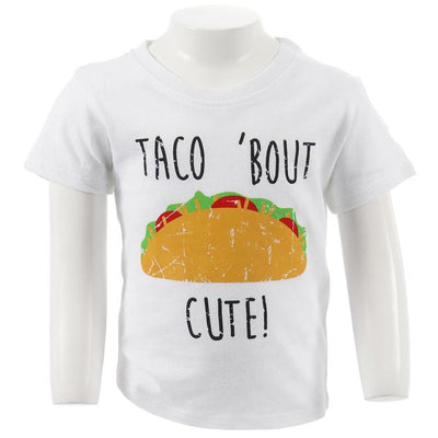 Short Sleeve Tee with Taco