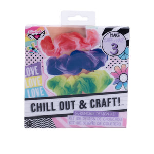 Chill Out and Craft Scrunchie
