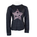 Long Sleeve w Glitter Pink Star