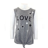 Tie Tank with Love & Stars