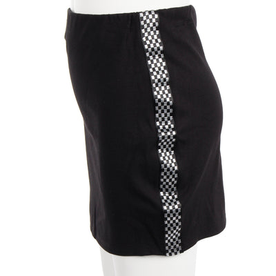 Skirt with Checker Sides