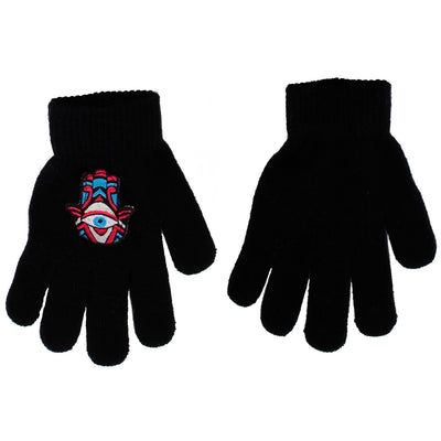 Hamsa Patch Gloves - Fits Size 7-14