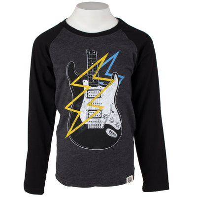 Electric Guitar Long Sleeve Raglan