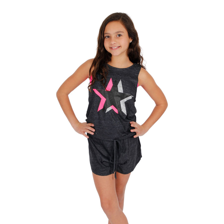 Tank Romper with Star