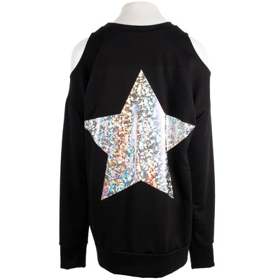 Cold Shoulder with Star On the Back