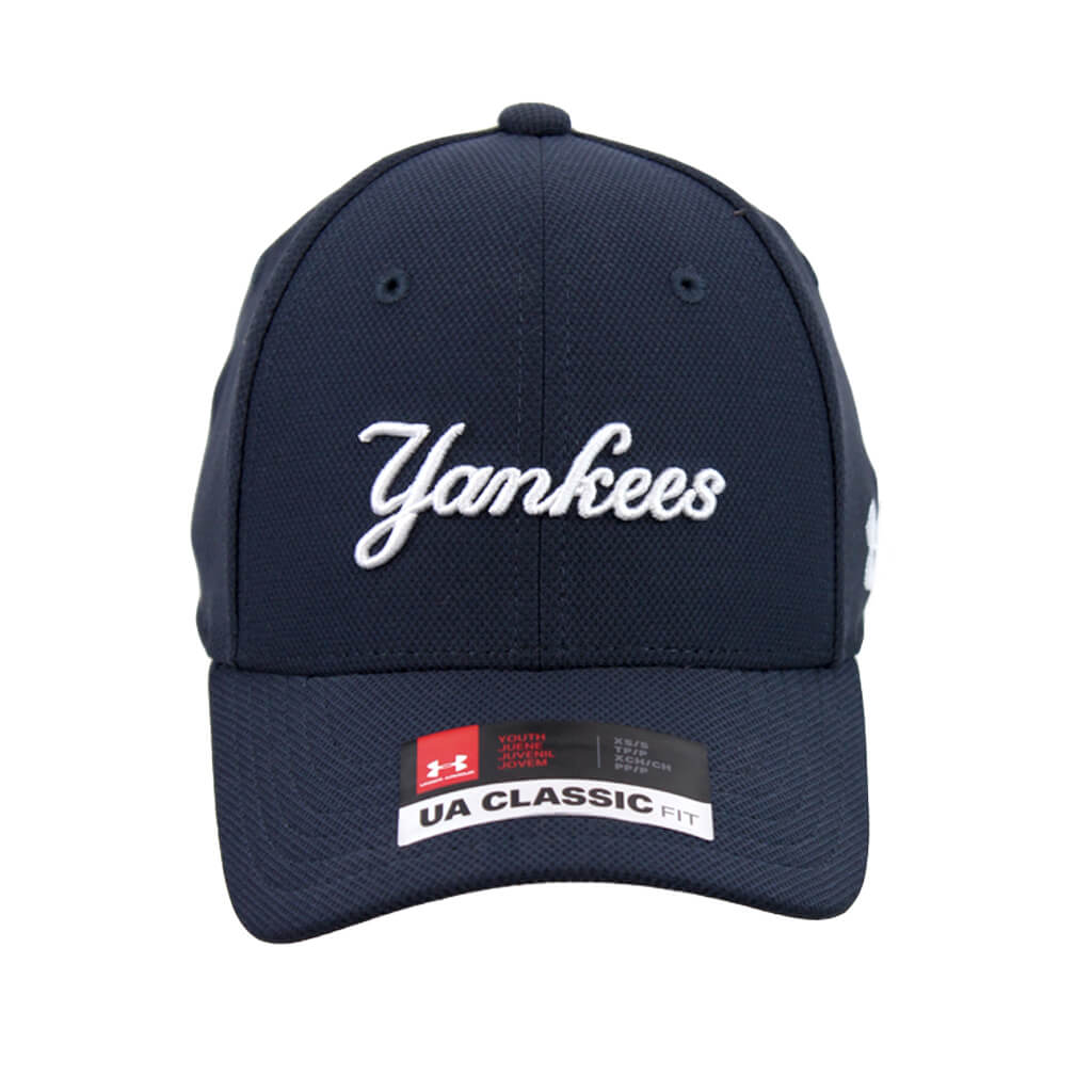 Under Armour. Yankees Blitzing Stretch Cap 9d54689644a
