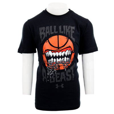 Short Sleeve Ball Like a Beast Tee