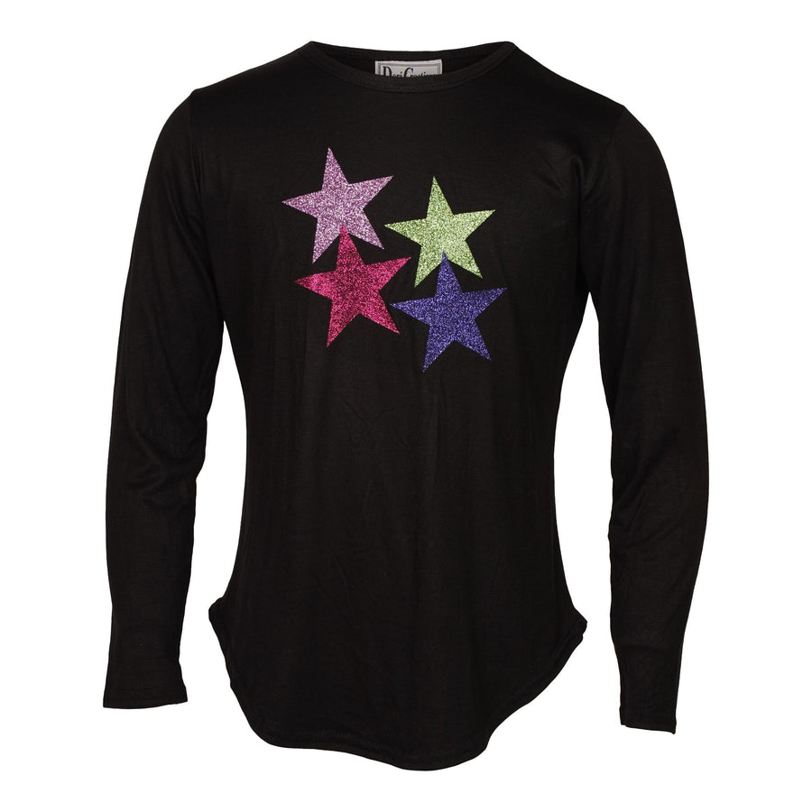 4 Star Round Bottom Long Sleeve Top