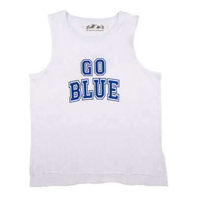 Go Blue Muscle Tee